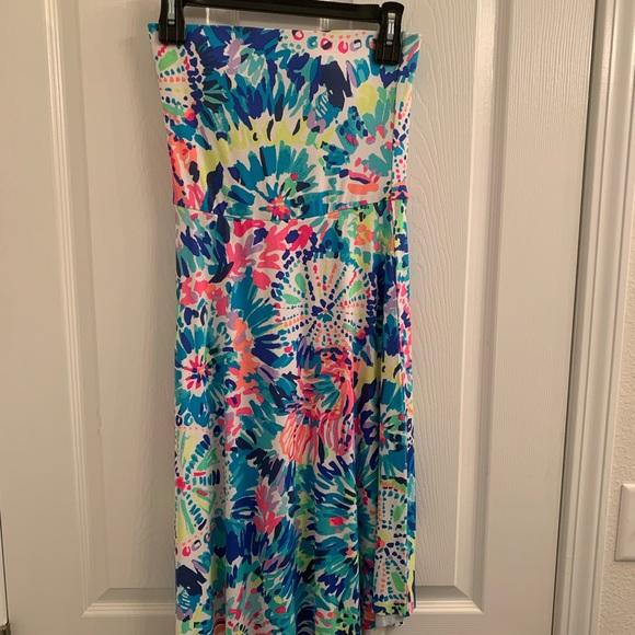 Lilly Pulitzer Loleta Dress XS in Dive In